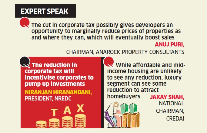 Bonanza For Domestic Companies As the Government Reduces Corporate Tax!