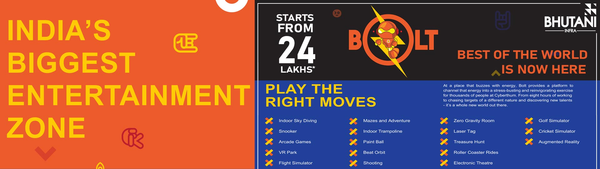 Bhutani Bolt Will Spice up Your Life with Its Soon to Come Mega Gaming Zone at Cyberthum