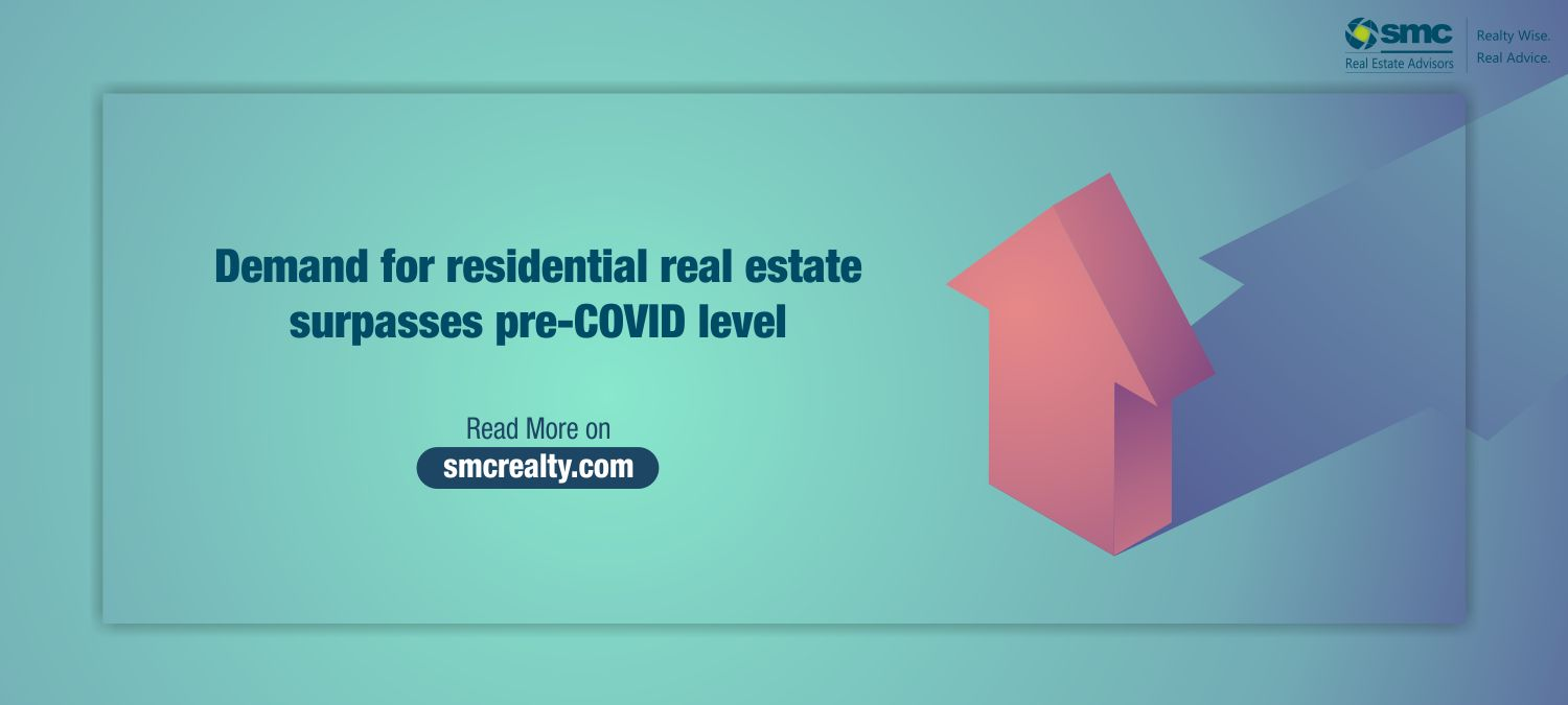 Demand for residential real estate surpasses pre-COVID level