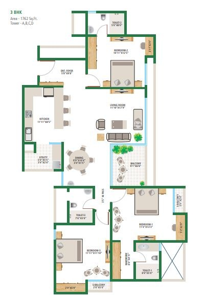 Alembic Urban Forest Floor Plans Whitefield Bangalore