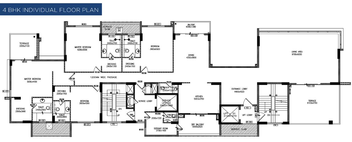Mantri Emporio Floor Plans Sopanbaug Pune