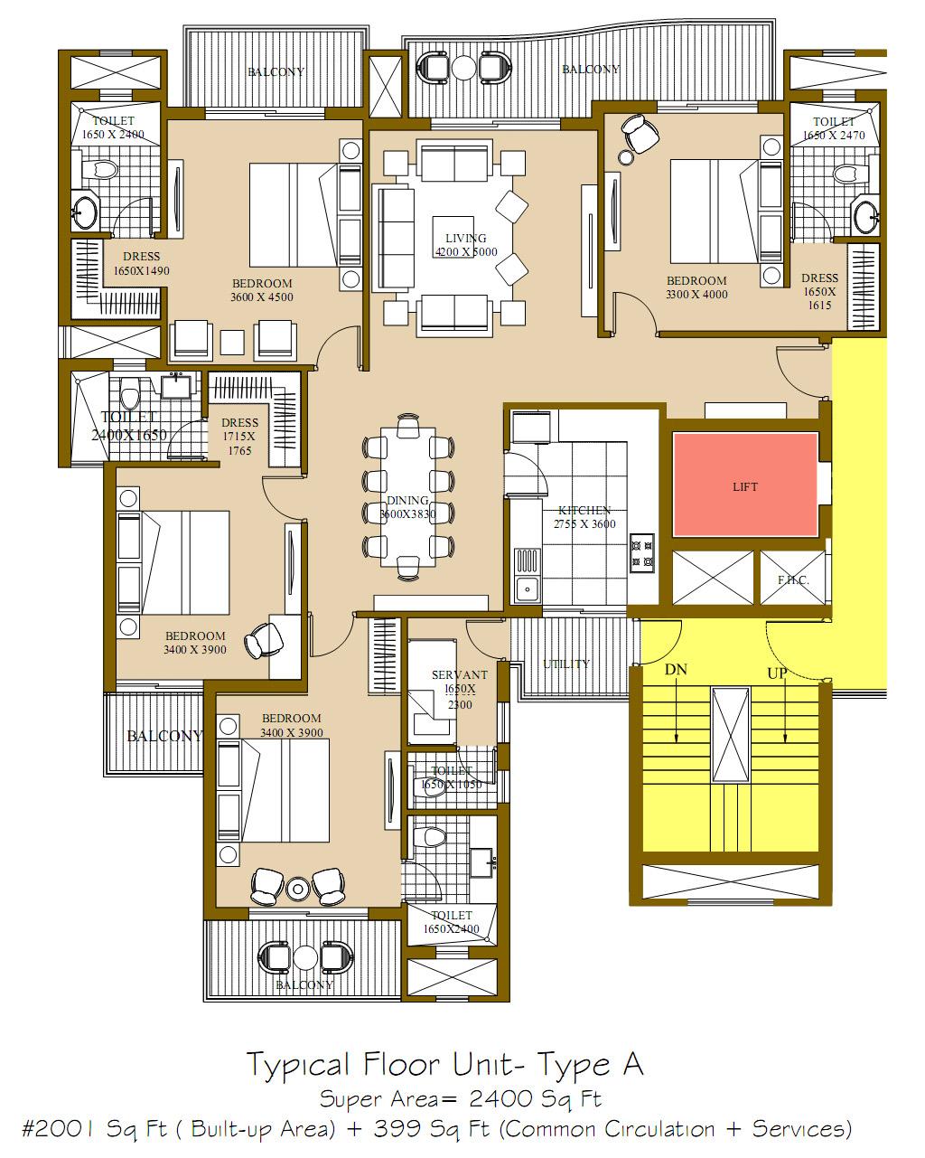 Ats Rhapsody Floor Plans Sector 1 Greater Noida