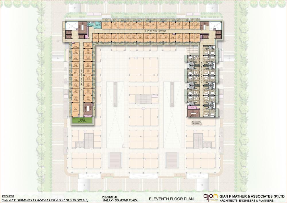 Galaxy Diamond Plaza Floor Plans