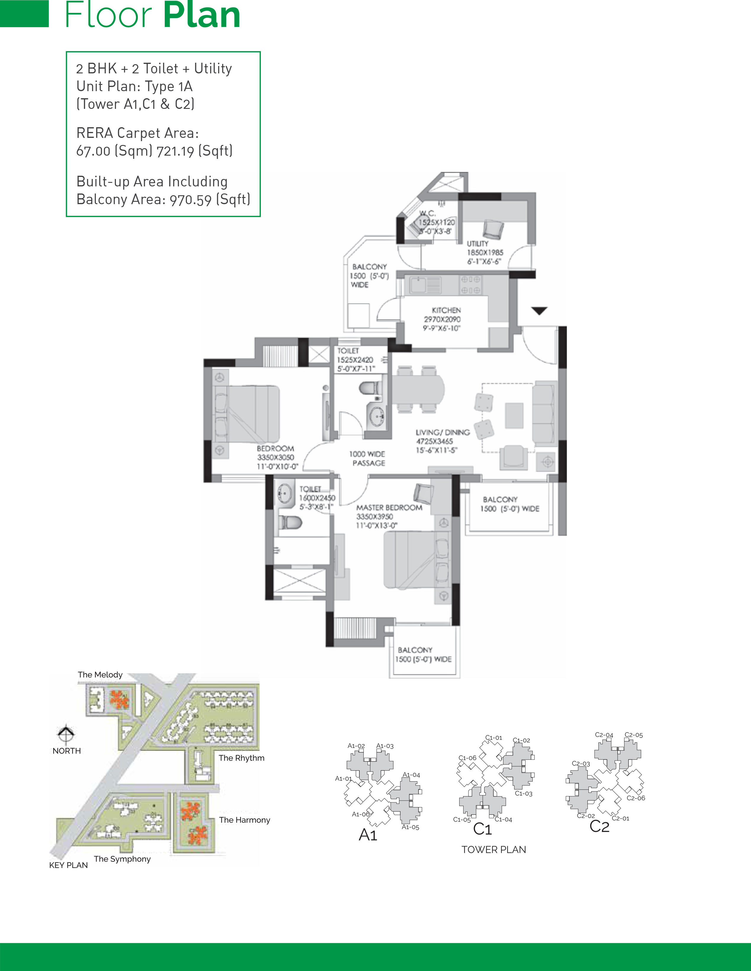 Experion Heartsong Floor Plans Sector 108 Gurgaon