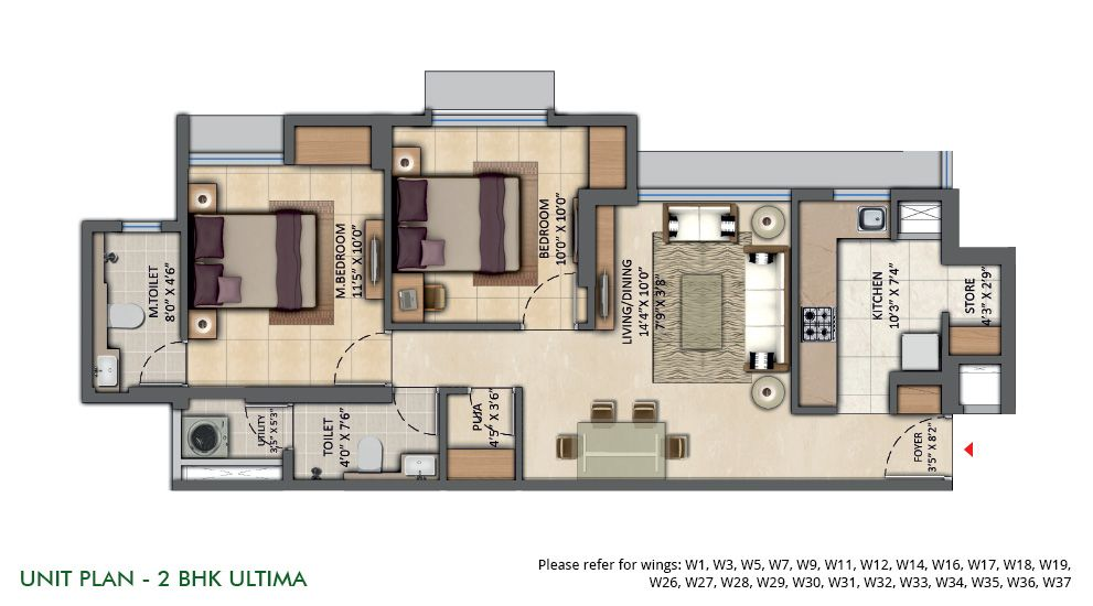 Lodha The Park Floor Plan: Lodha Amara At Kolshet Road, Thane By Lodha Group