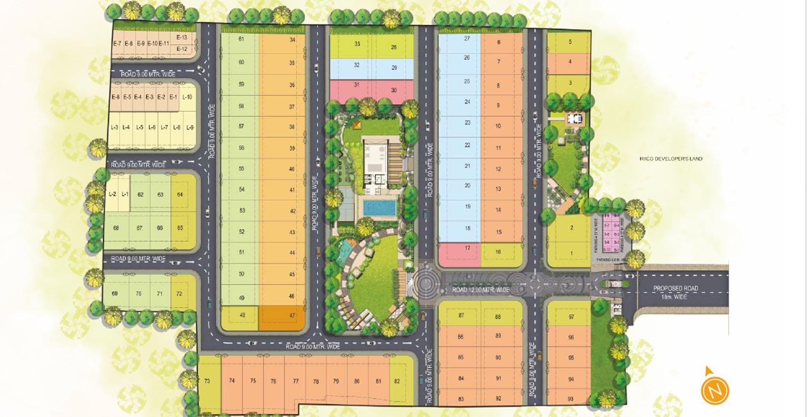 radhu oakwood master plan