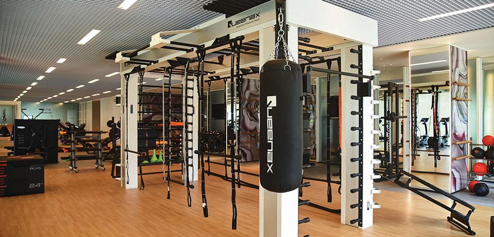 Lodha Parkside Gym Area