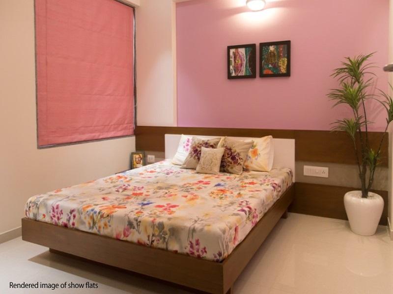 Ajmera Casa Vyoma Bedroom