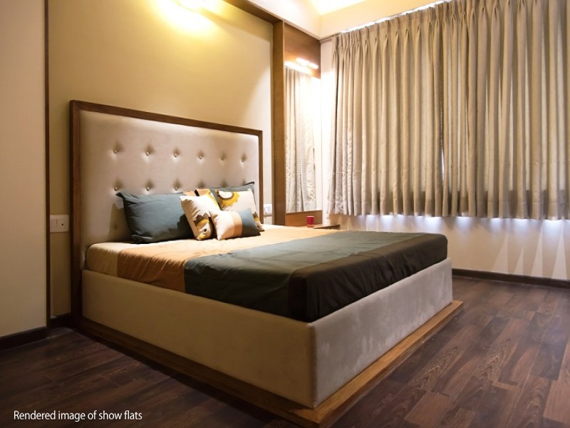Ajmera Casa Vyoma Bedroom02
