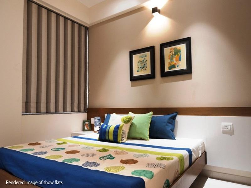 Ajmera Casa Vyoma Bedroom03