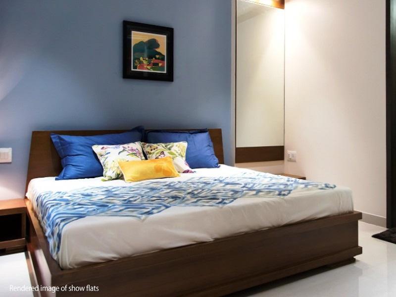 Ajmera Casa Vyoma Bedroom04