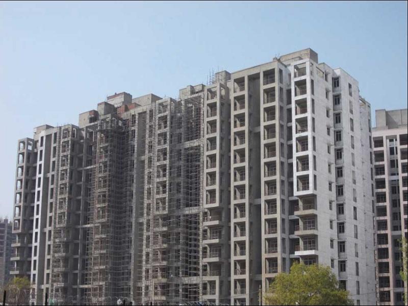 Raheja Sampada Construction