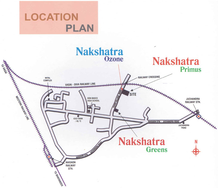 Jsb Nakshatra Ozone Location Map