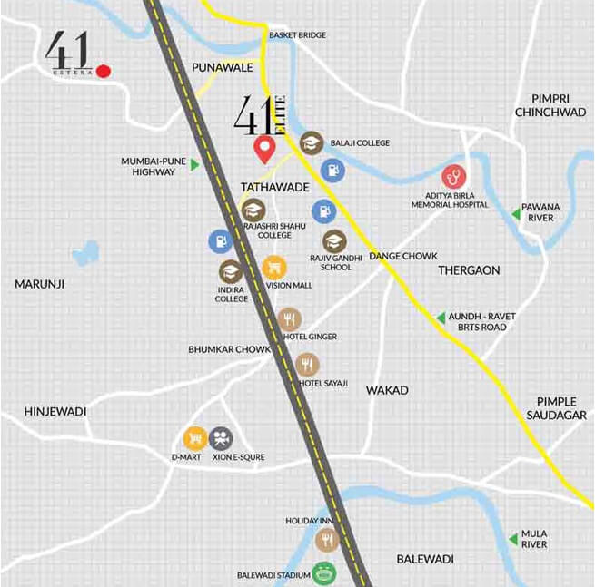 Krisala 41 Elite 2 Location Map