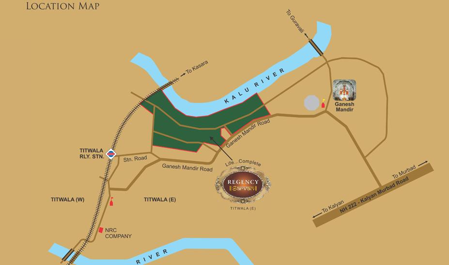 Regency Sarvam Location Map