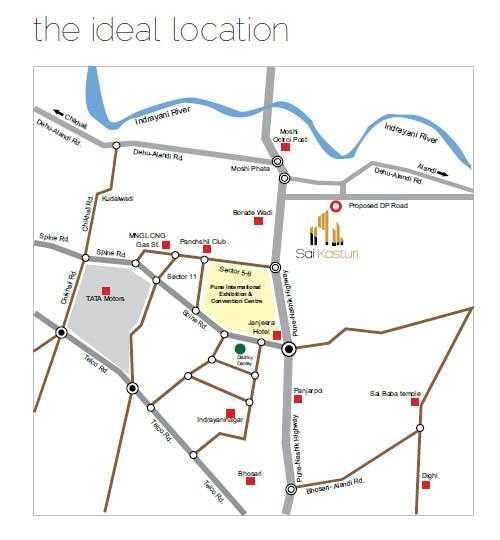 Royal Sai Kasturi Location Map