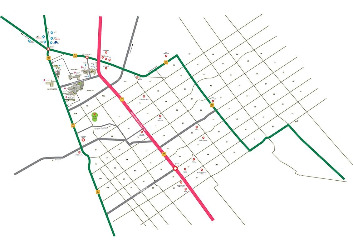 Sbp Elite Homes Location Map