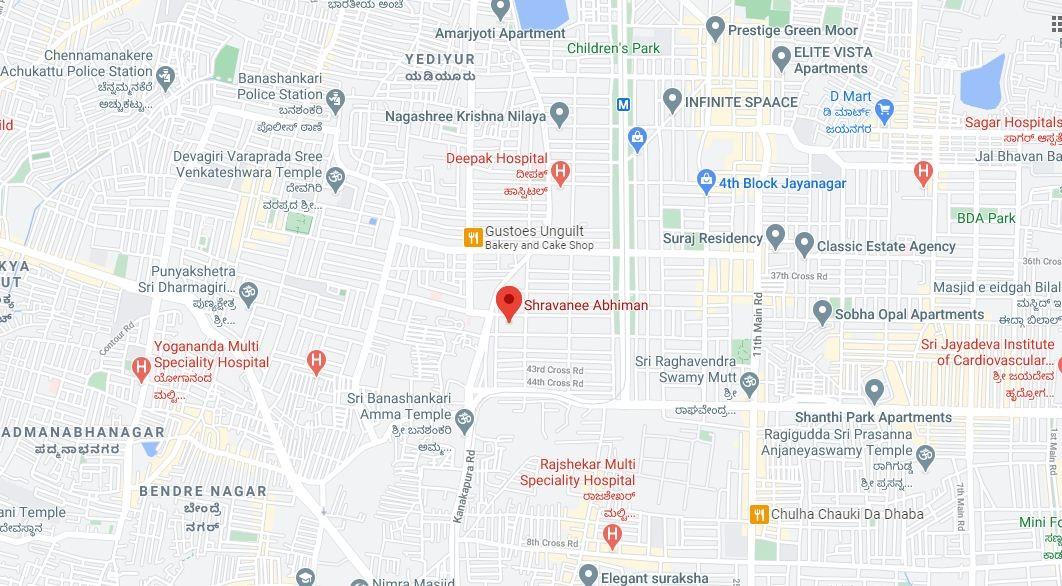 Shravanee Abhiman Location Map