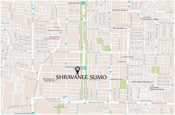 Shravanee Sumo Location Map