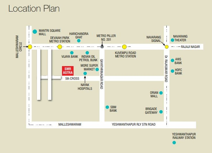 Smr Astra Location Map