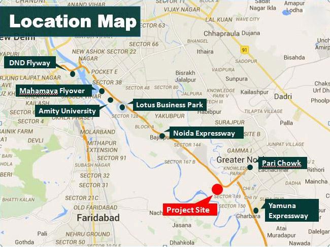 Tata Destination 150 Location Map