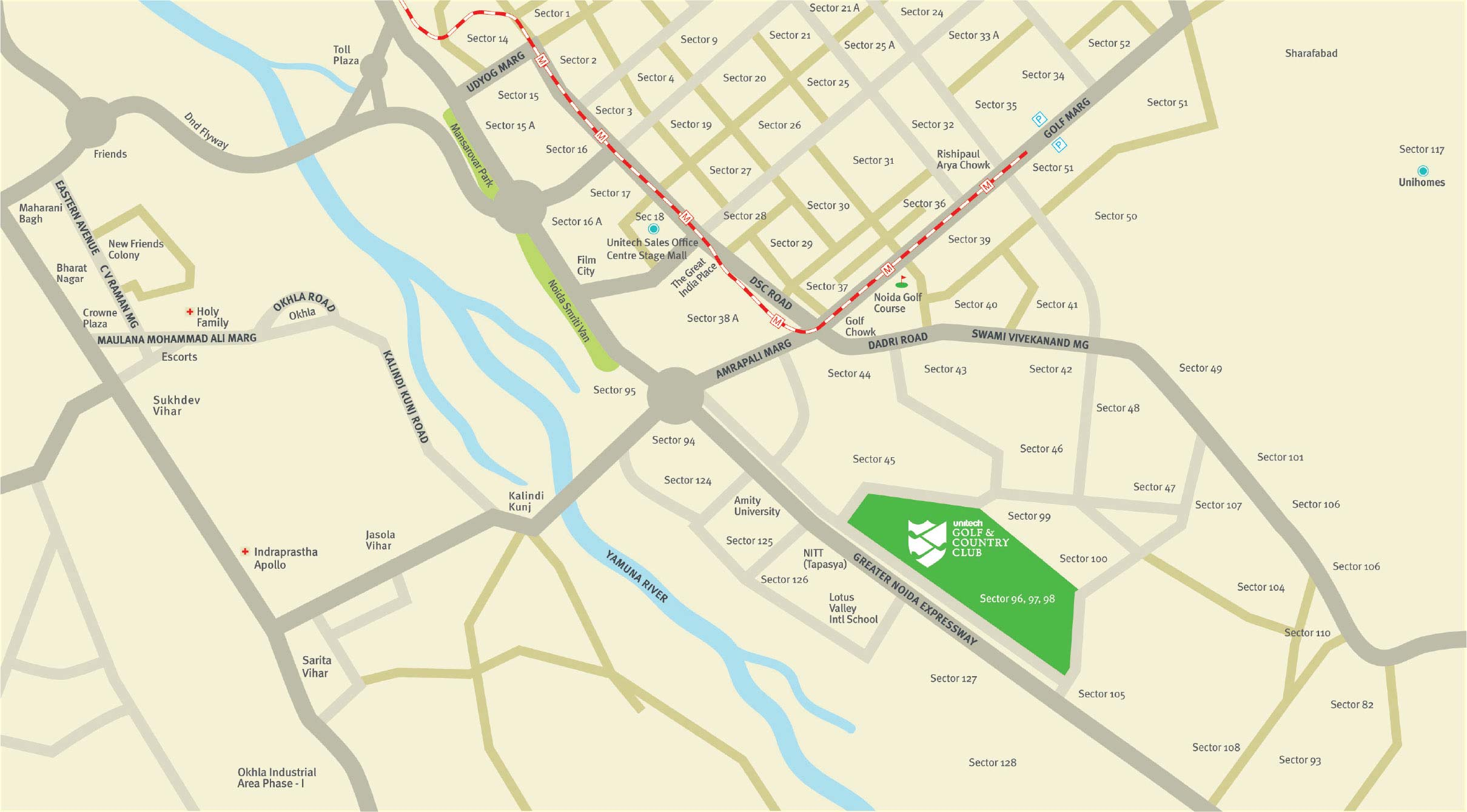 Unitech Ugcc Amber Location Map