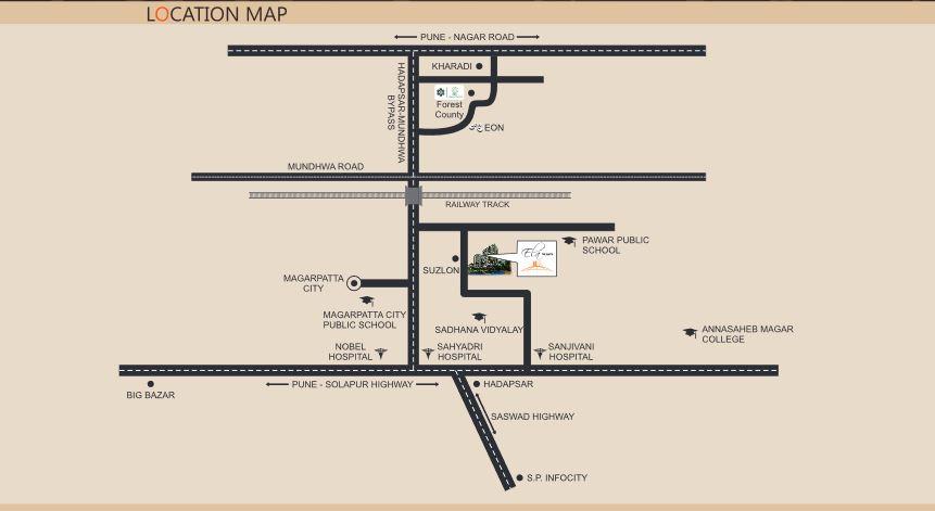 Vascon Ela The Earth Location Map