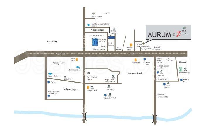 Vascon Zircon Location Map