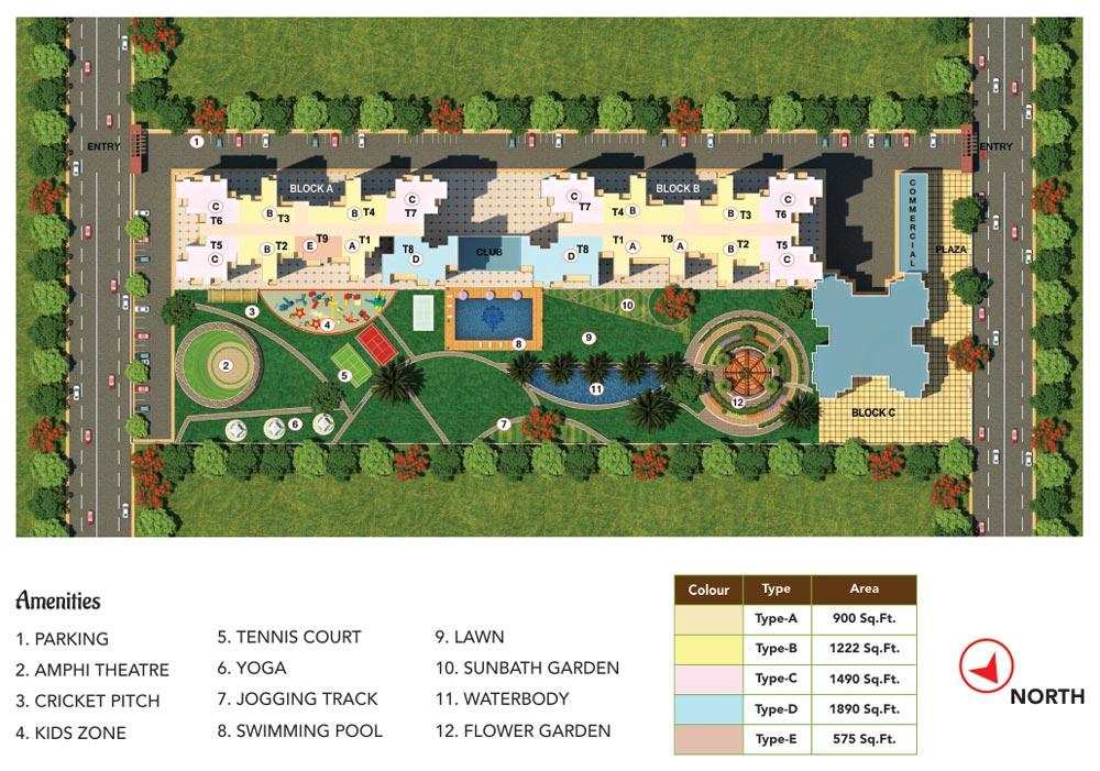 Antriksh Valley Master Plan
