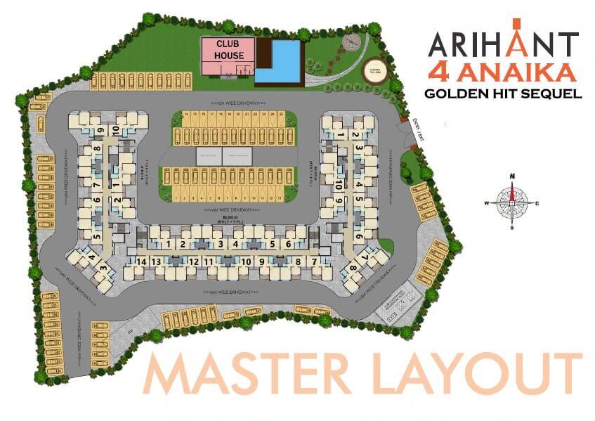 Arihant Anaika 4 Master Plan