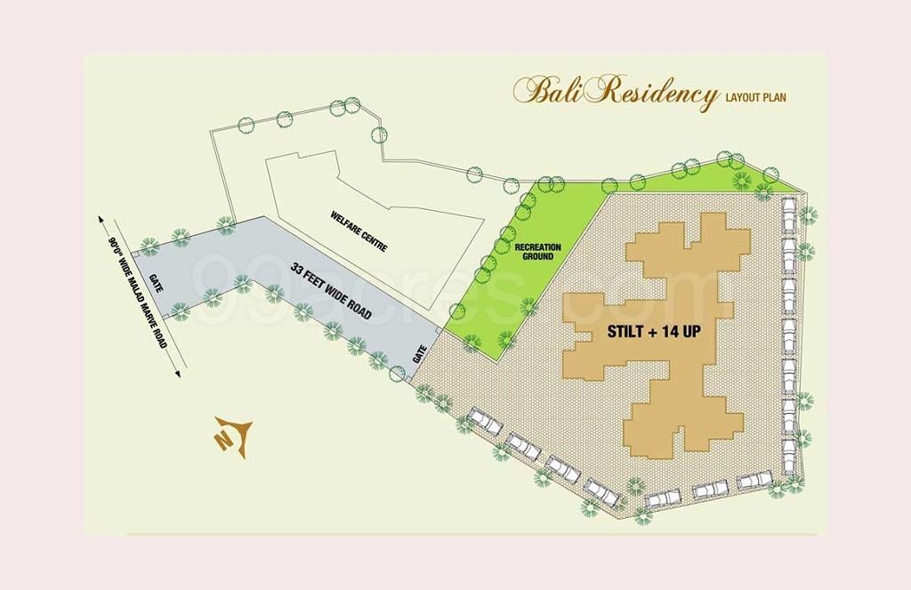 Bali Residency Master Plan