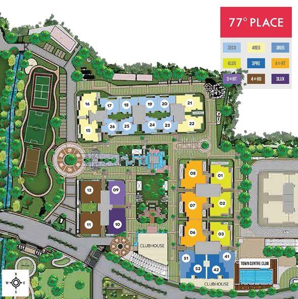 Divyasree 77 Place Master Plan Marathahalli Bangalore