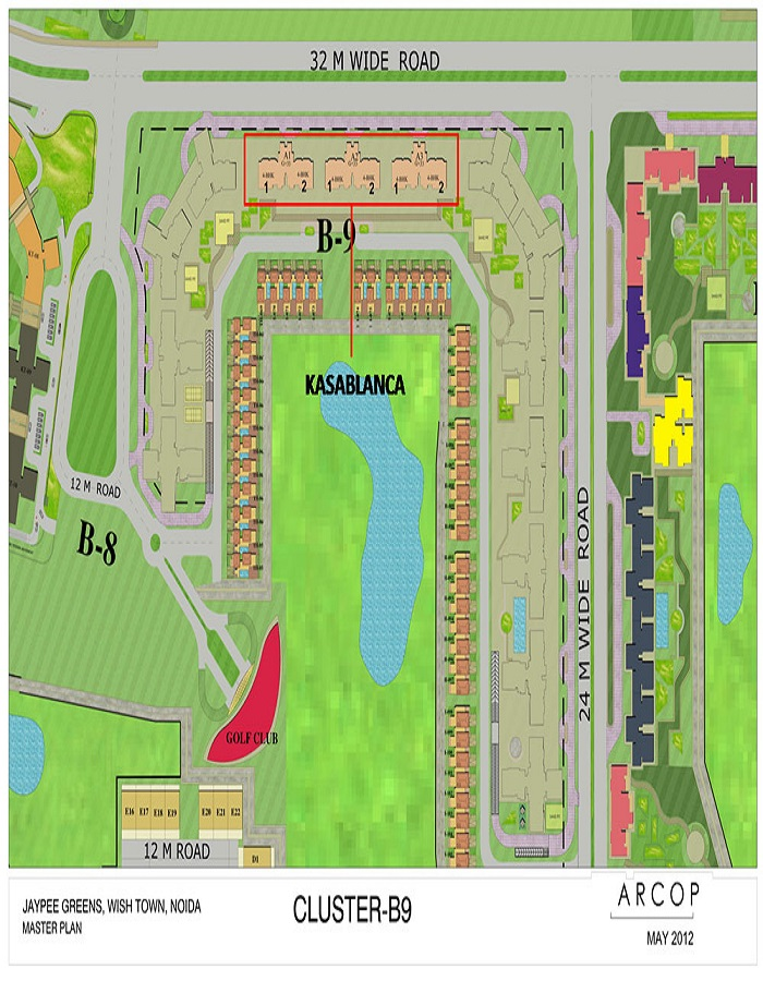 Jaypee Kasablanca Towers Master Plan
