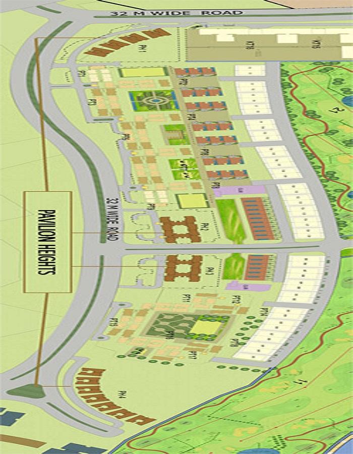 Jaypee Pavilion Heights Master Plan