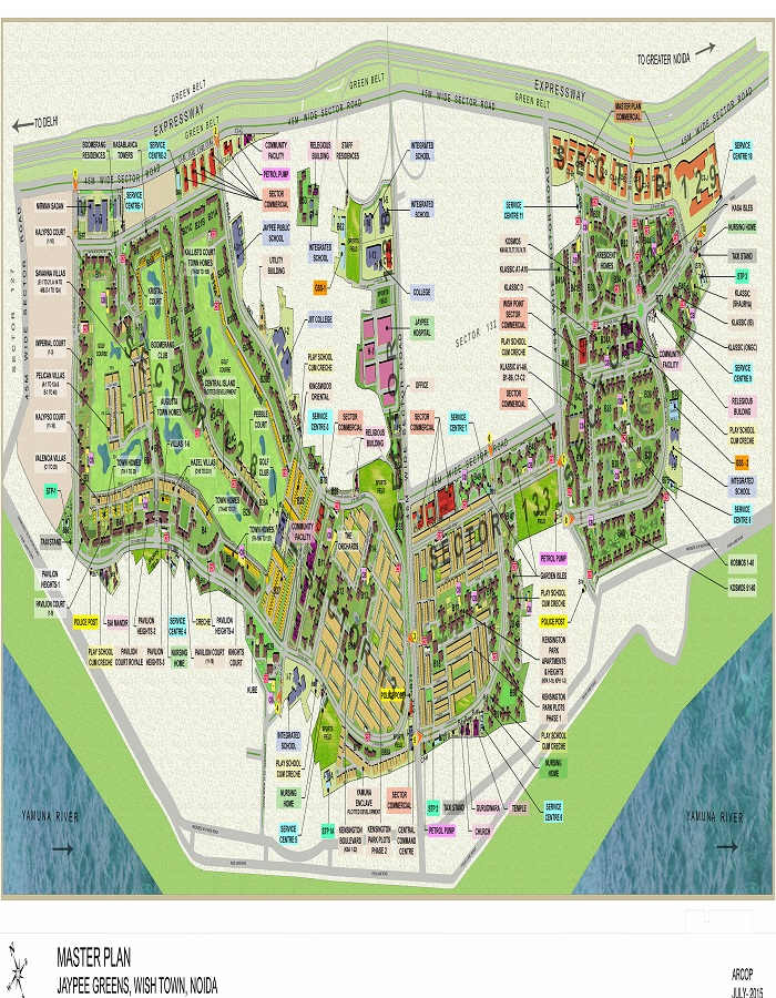 Jaypee Pebble Court Master Plan