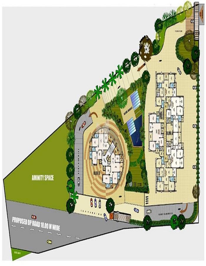 Kirti Crest Avenue Tower A Master Plan