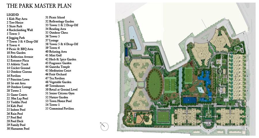 Lodha Parkside Master Plan