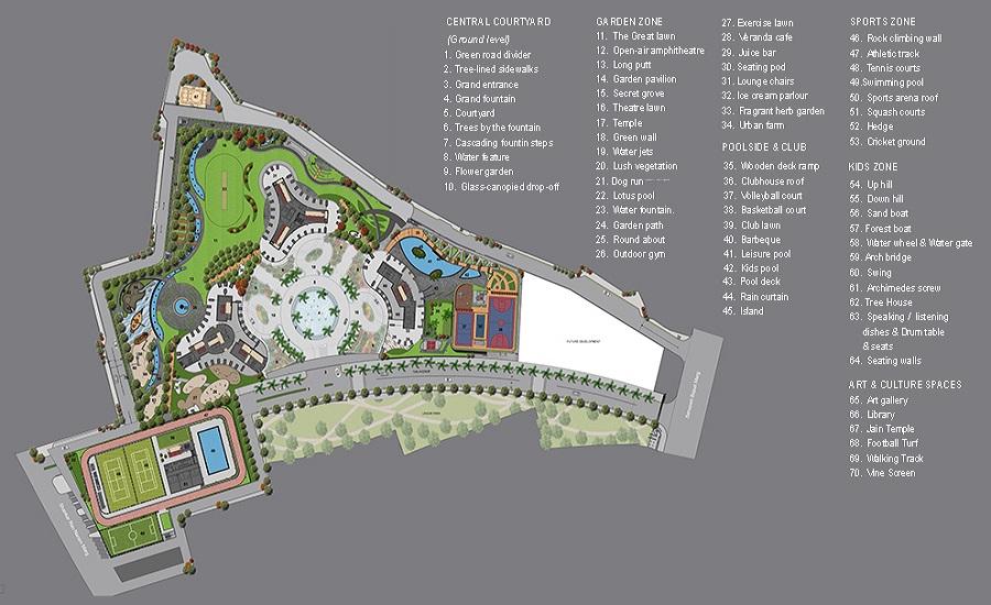 Lodha World View Master Plan