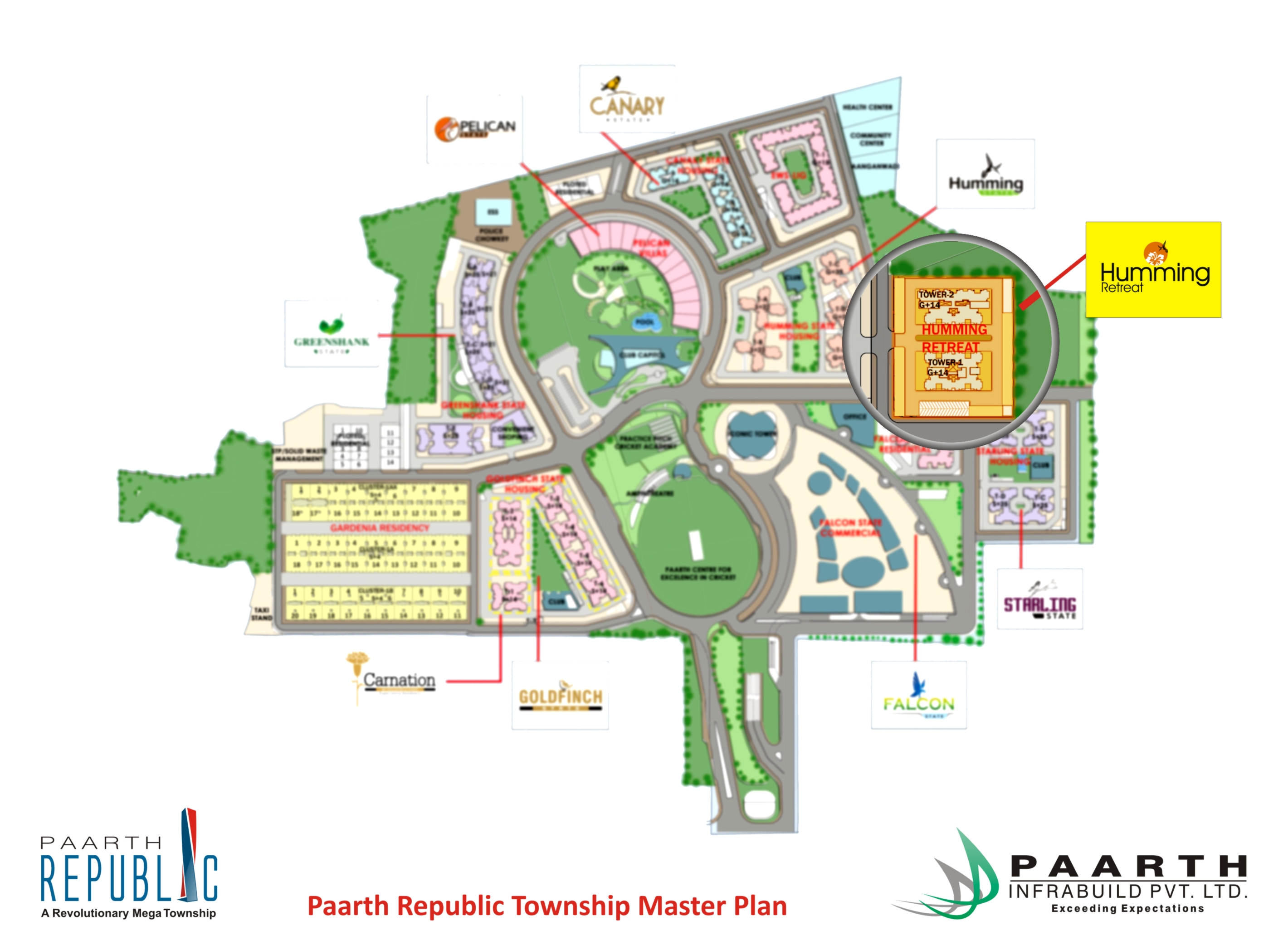 Paarth Humming Retreat Master Plan