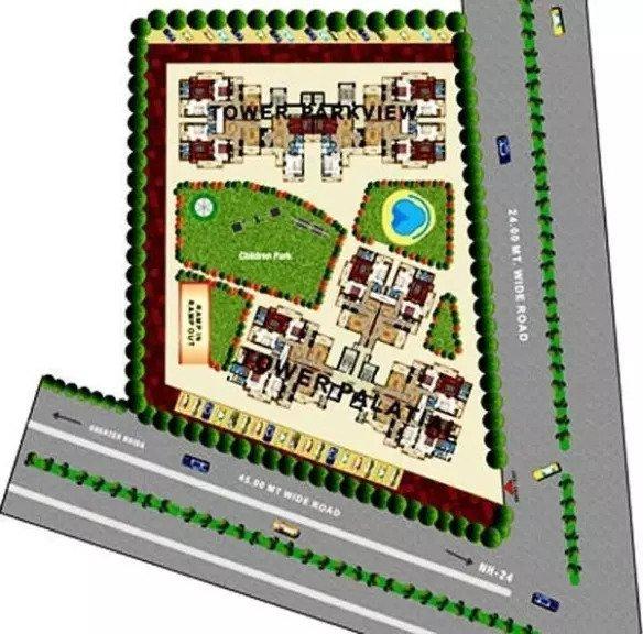 Prateek Royal Cliff Master Plan