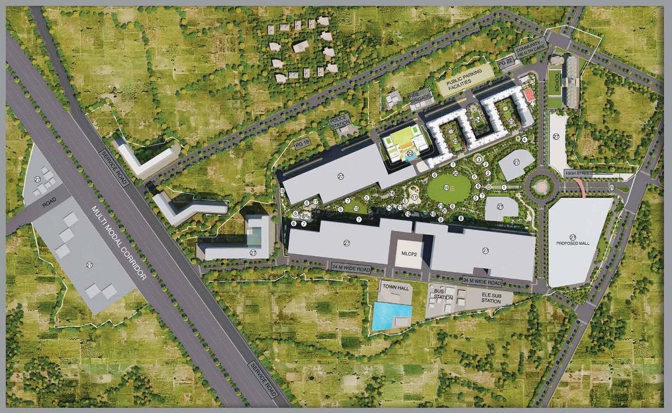 Runwal Gardens Master Plan