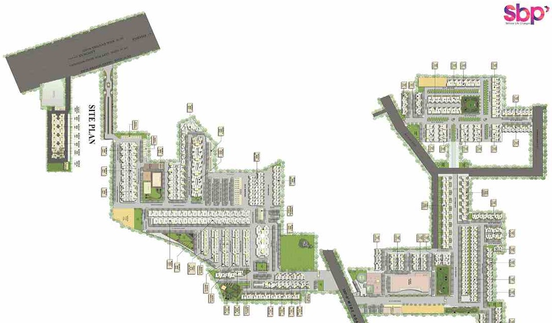 Sbp Elite Homes Master Plan