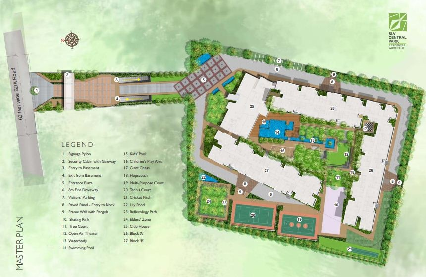 Slv Central Park Master Plan