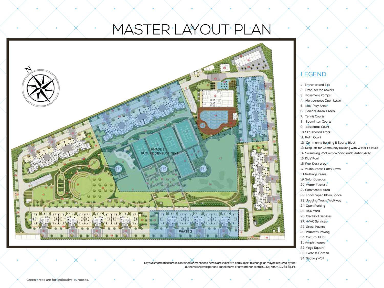Tata Eureka Park Master Plan