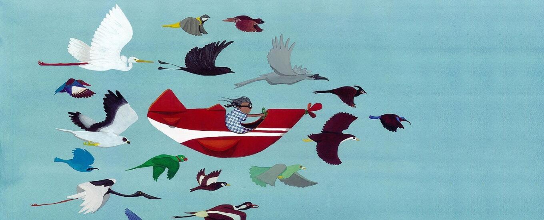 Skyi songbirds pune