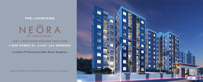 Provident Neora Thanisandra Bangalore