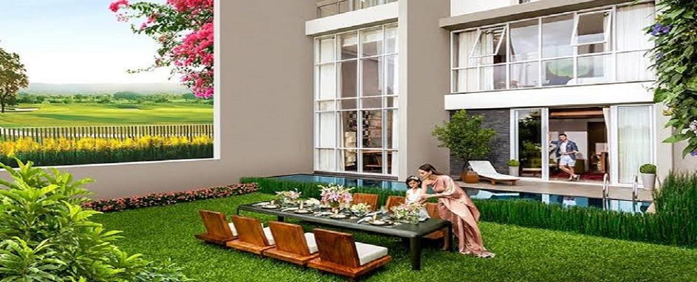 Lodha belmondo villa Garden View