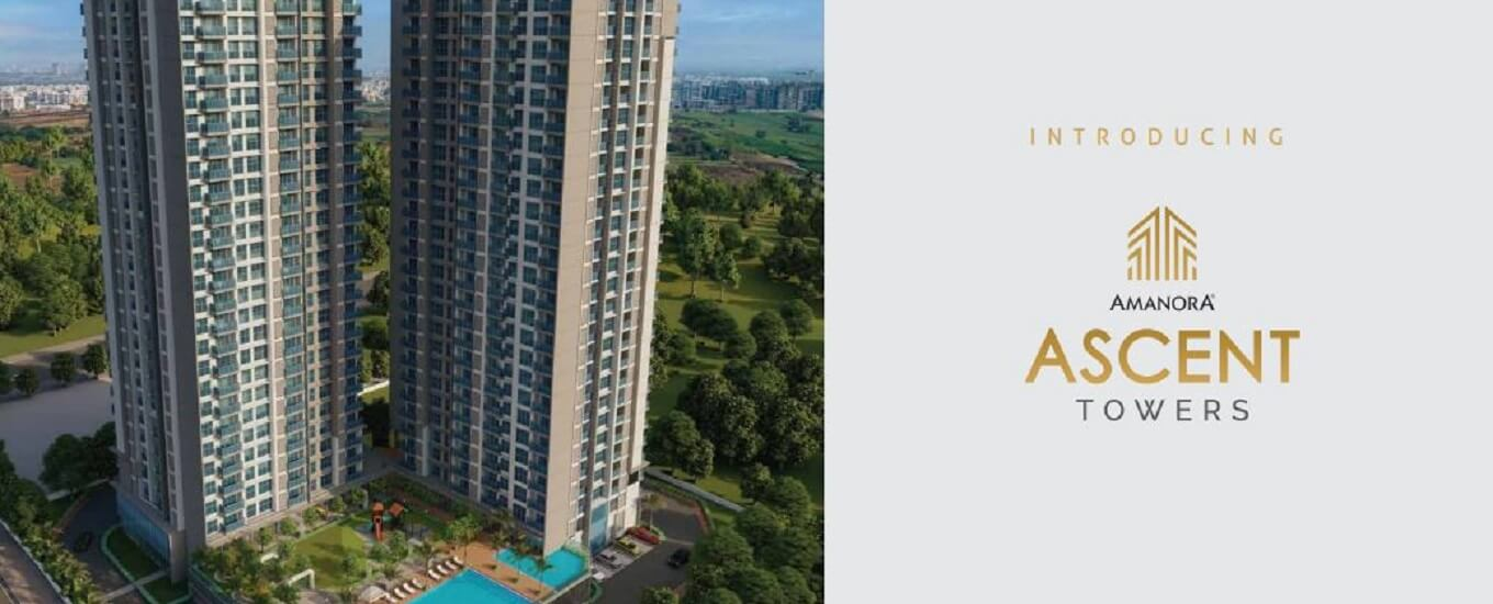 Amanora ascent towers image