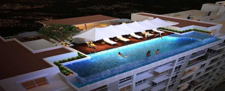 Ajmera Annex Pool Area