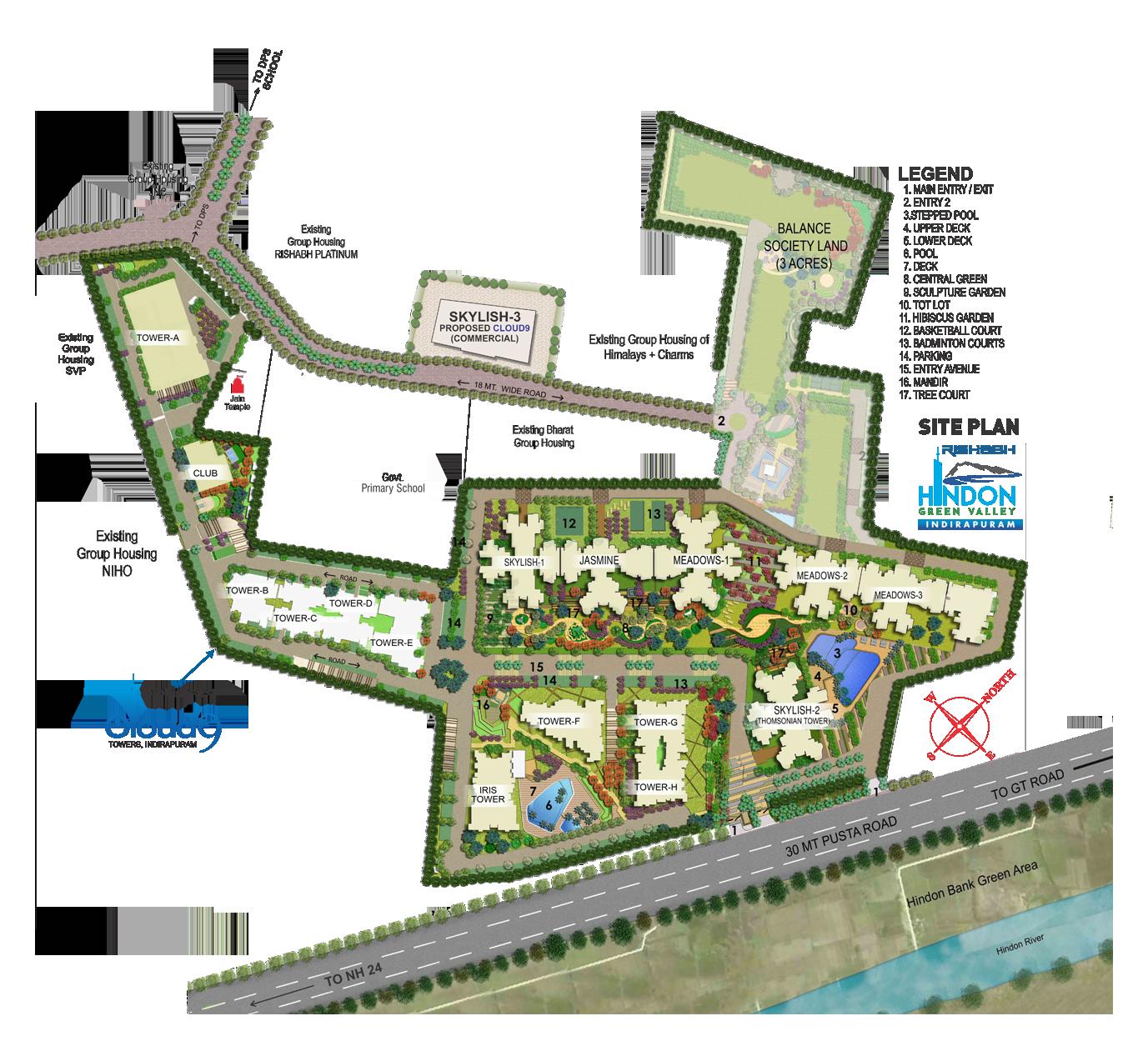 Cloud 9 skylish indirapuram ghaziabad flats in indirapuram price - Enquiry Form